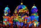 Berliner Dom illuminiert beim Festival of Lights 2013
