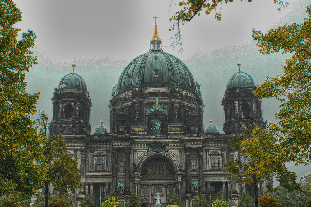 Berliner Dom in HDR