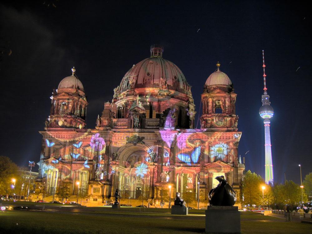 Berliner Dom und Alex in HDR