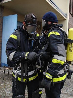"""Berliner Feuerwehr: """"ANT-Trockenübung"""""""