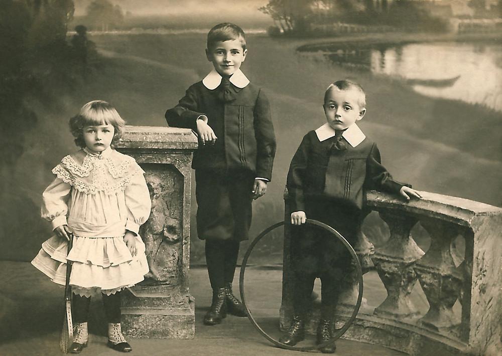 Berliner Kinder, 1905