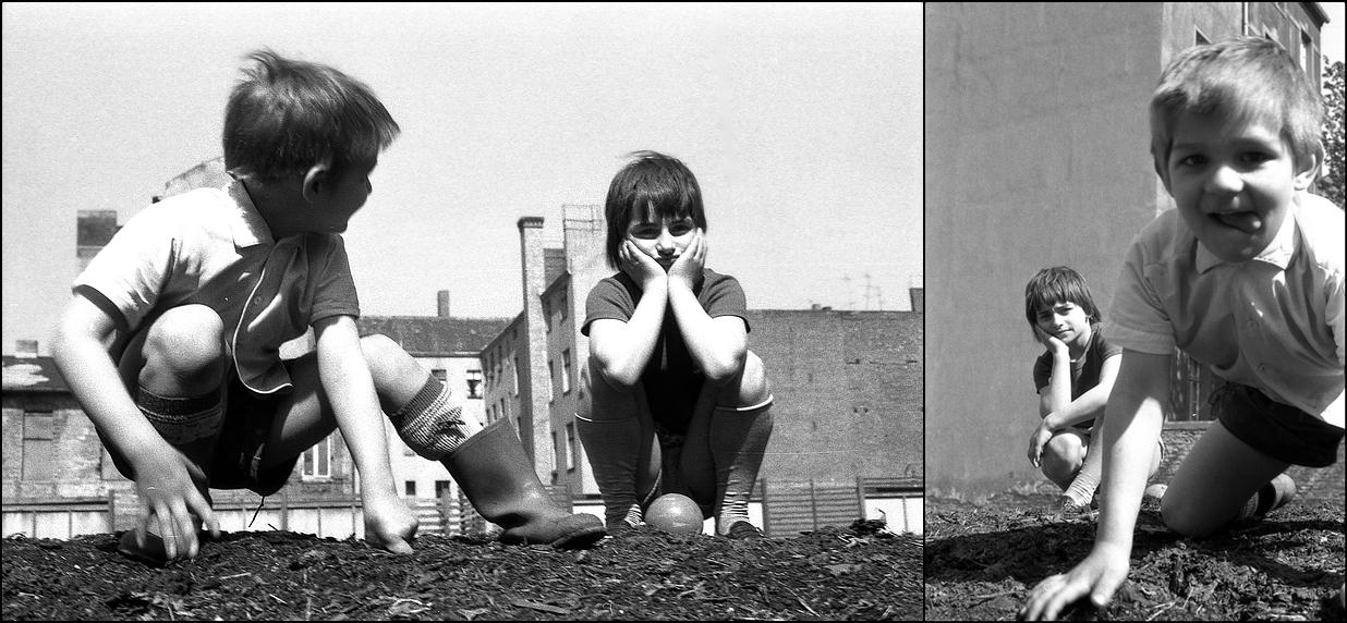 Berliner Kinder 1971. Dennewitzstr. Schöneberg