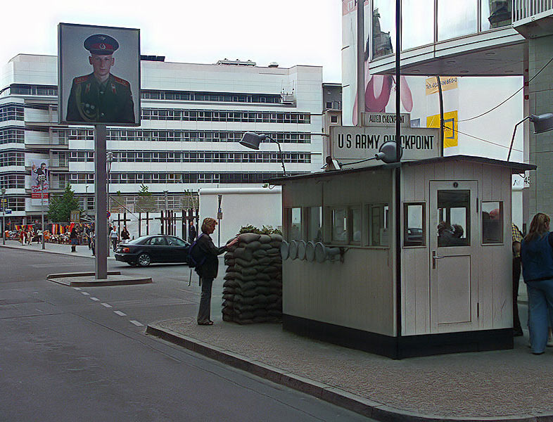 Berliner Mauer / CheckPoint Charlie