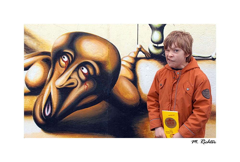 Berliner Mauergespenst