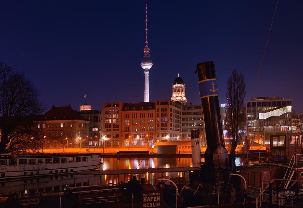 Berliner Nachtsplitter I: Berlin maritim