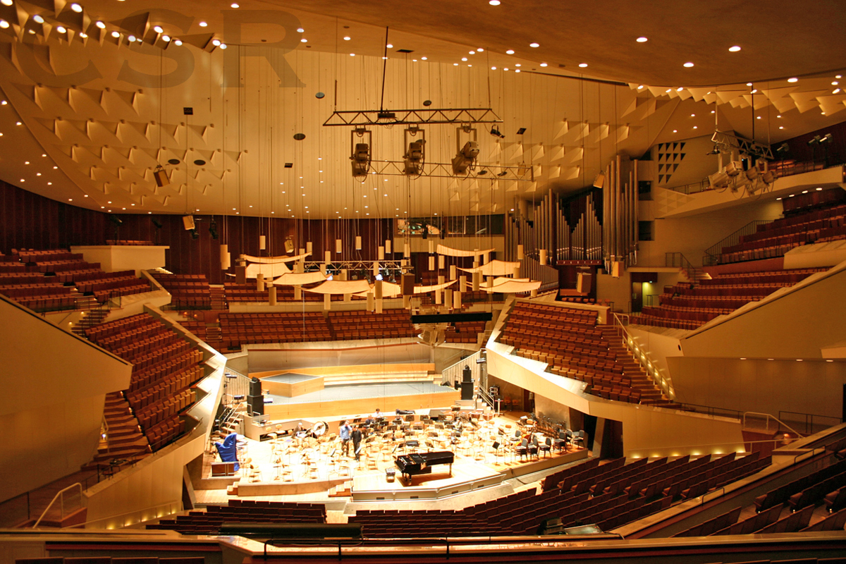 Berliner Philharmonie interior