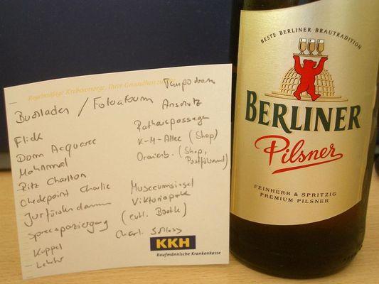 Berliner Pilsner meets KKH