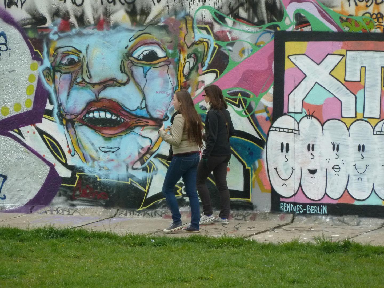 Berliner Rest-Mauer,