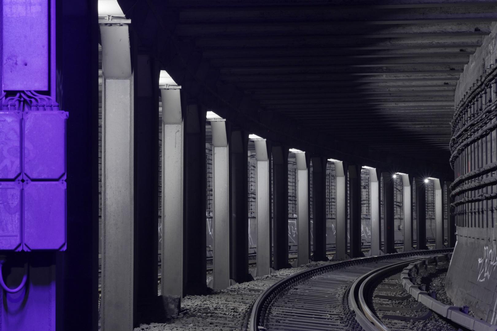 Berliner S- Bahn Tunnel