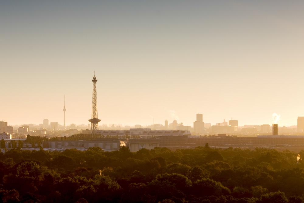 Berliner Sonnenaufgang