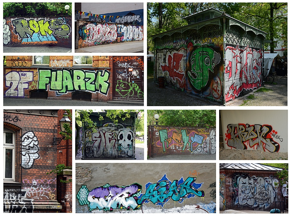 Berliner Sprayer Im Farbrausch