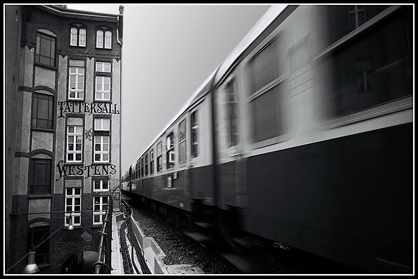 Berliner Stadtbahn 1993 - Tattersall