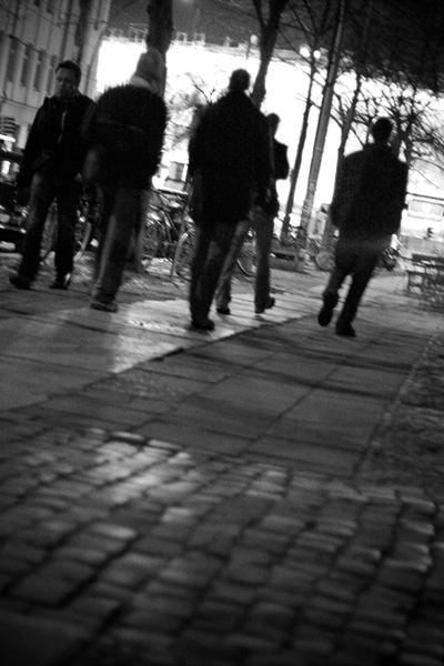 Berliner Strassenszene