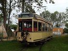 Berliner Triebwagen an der Ostsee