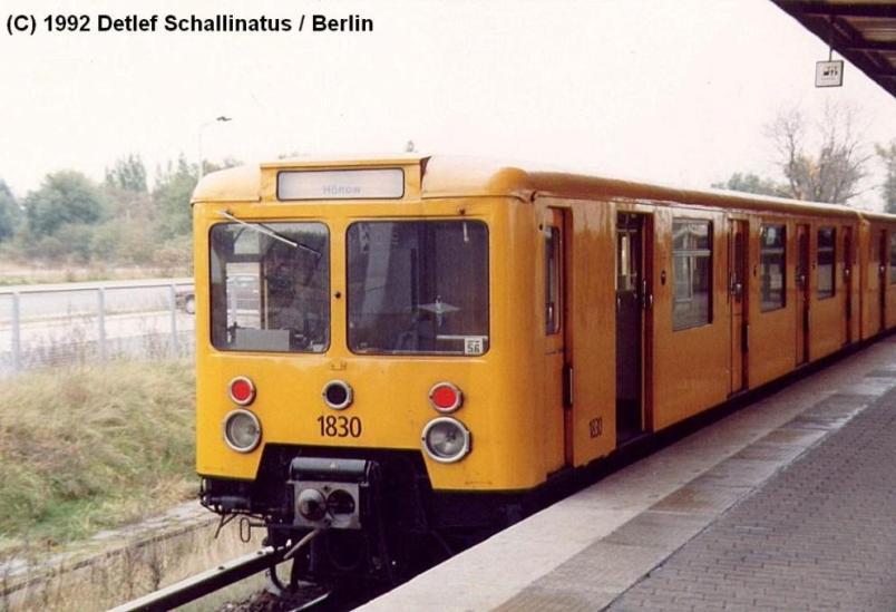 Berliner U-Bahn Baureihe E-III