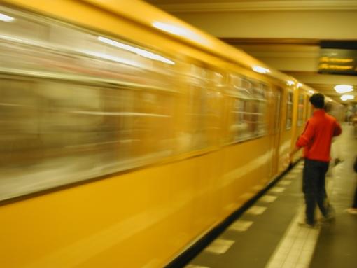 Berliner U-Bahn (Lomo-Emulation)
