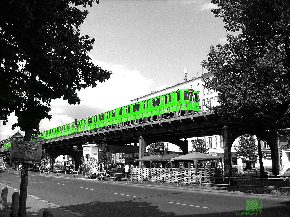 Berliner U-Bahn mal anders!