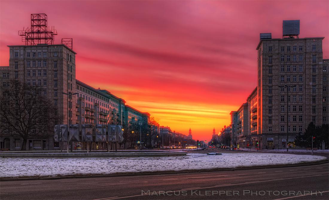 Berliner Winter Morgen
