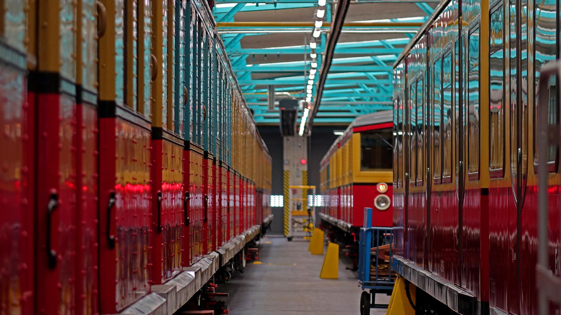 Berlin/Erkner - S-Bahn-Werkstatt