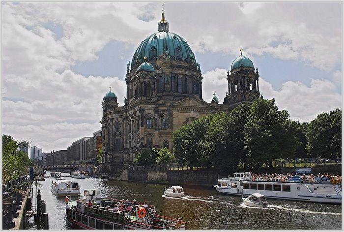 """Berlins """"Canale Grande"""": die Spree"""