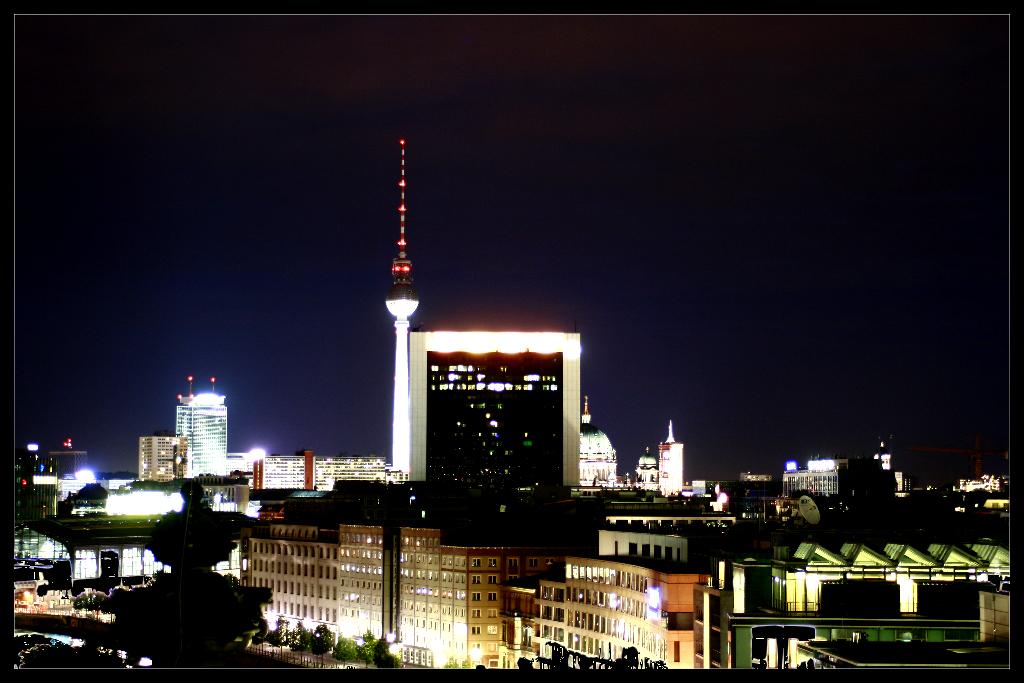 Berlins Nachtschwarz