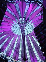 Berlin's SONY Center at night (1)