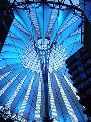 Berlin's SONY Center at night (2)