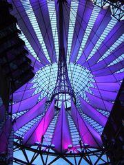 Berlin's SONY Center at night (4)