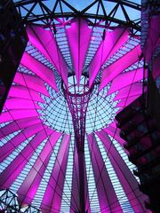 Berlin's SONY Center at night (5)