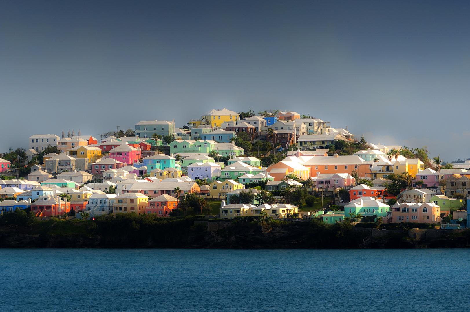 Bermudafarben