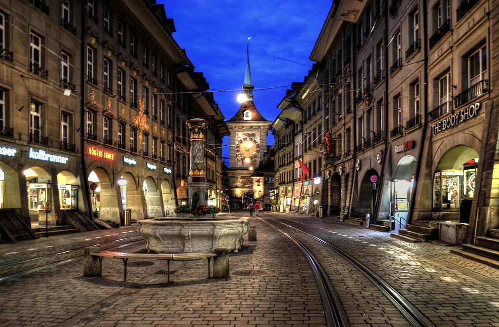 Bern bei Nacht ...