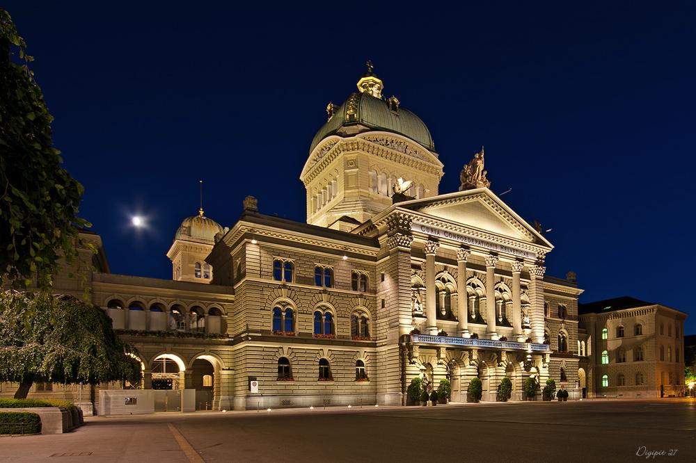 Bern Bundeshaus 4
