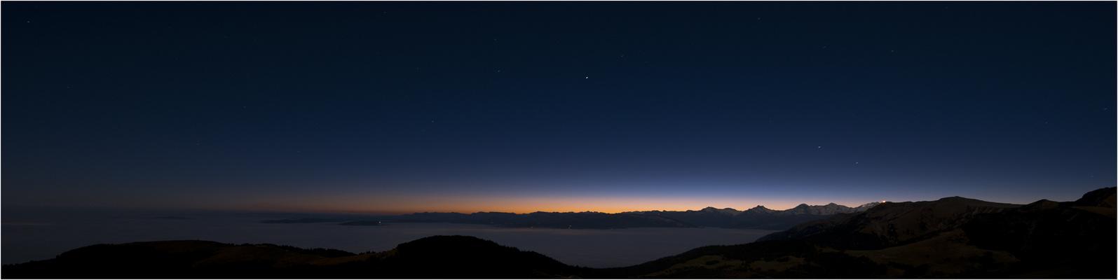 Berner-Oberland erwacht 6.00AM