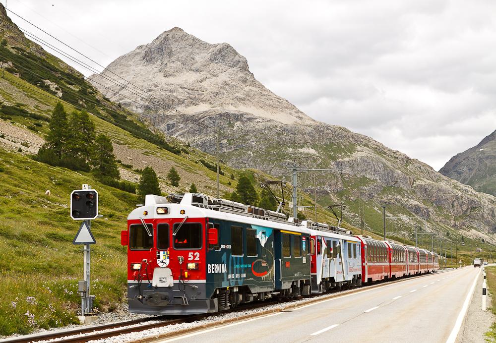 Berninabahn (4) ...