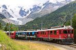 Berninabahn - die Montebellokurve (3) ...