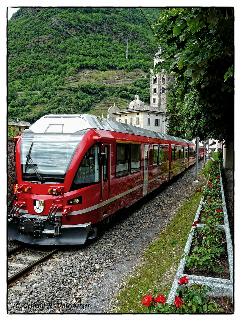 Berninaexpress in Tirano
