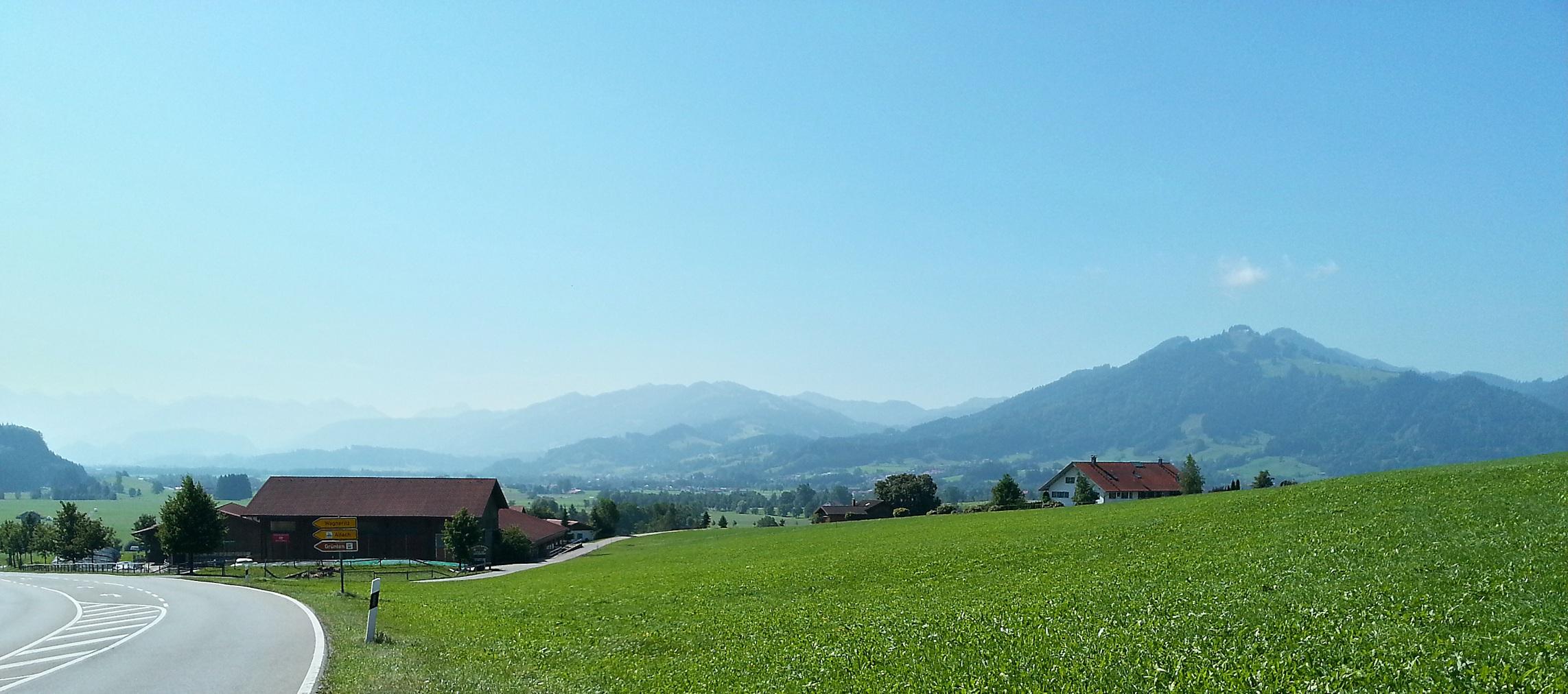 Berpanorama bei Freidorf