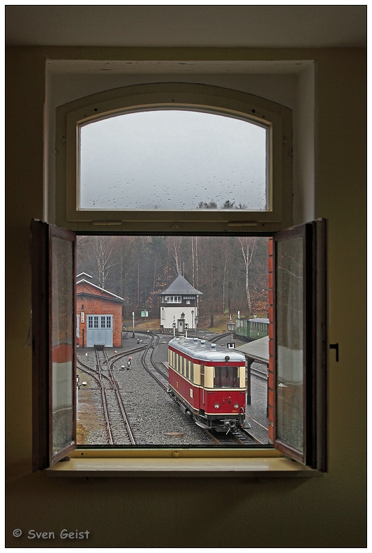 Bertsdorfer Fensterblick