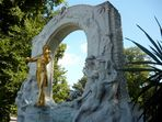 Berühmter Stehgeiger im Wiener Stadtpark