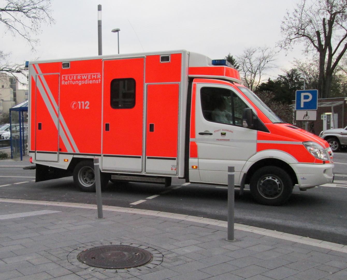 Berufsfeuerwehr Duisburg