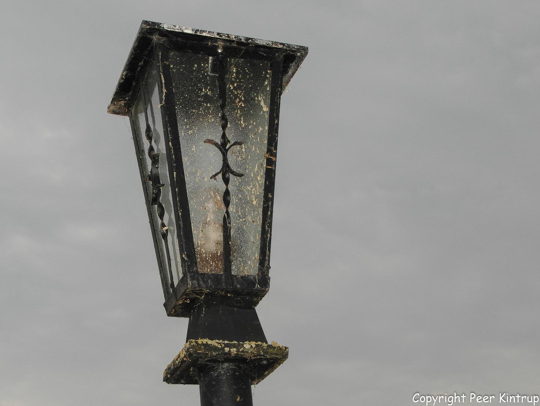Beschissene Lampe