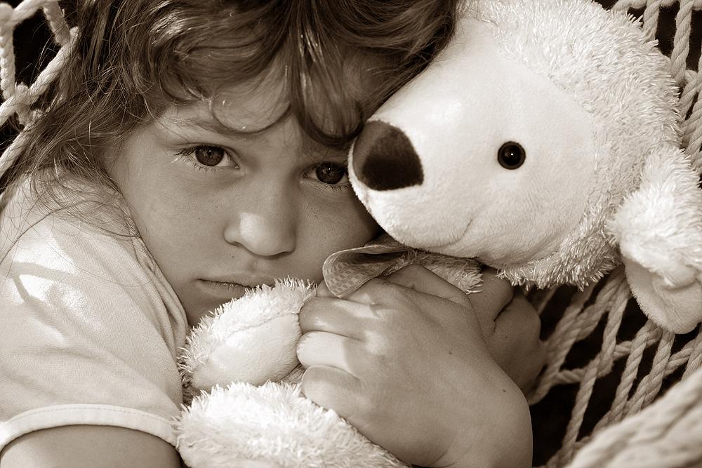 Beschützt Du mich, kleiner Bär...?