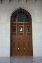 Besichtigung der Sultan-Qaboos-Moschee in Muscat (Sultanat Oman) (1)