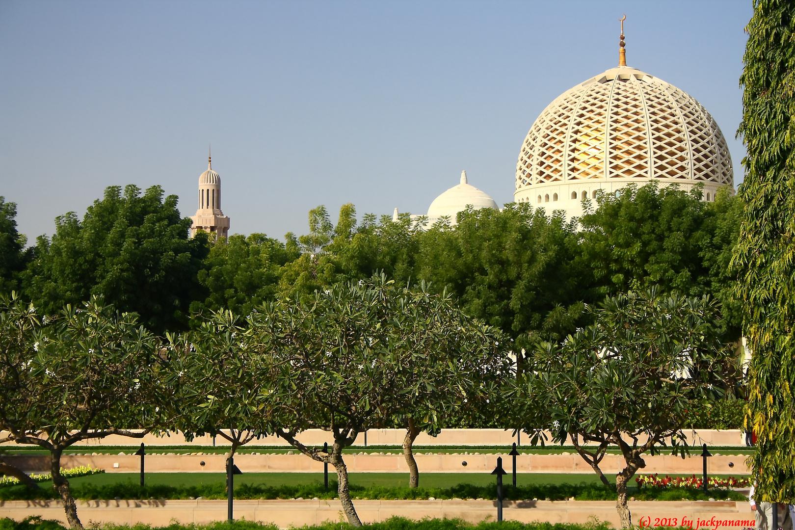Besichtigung der Sultan-Qaboos-Moschee in Muscat (Sultanat Oman) (13)