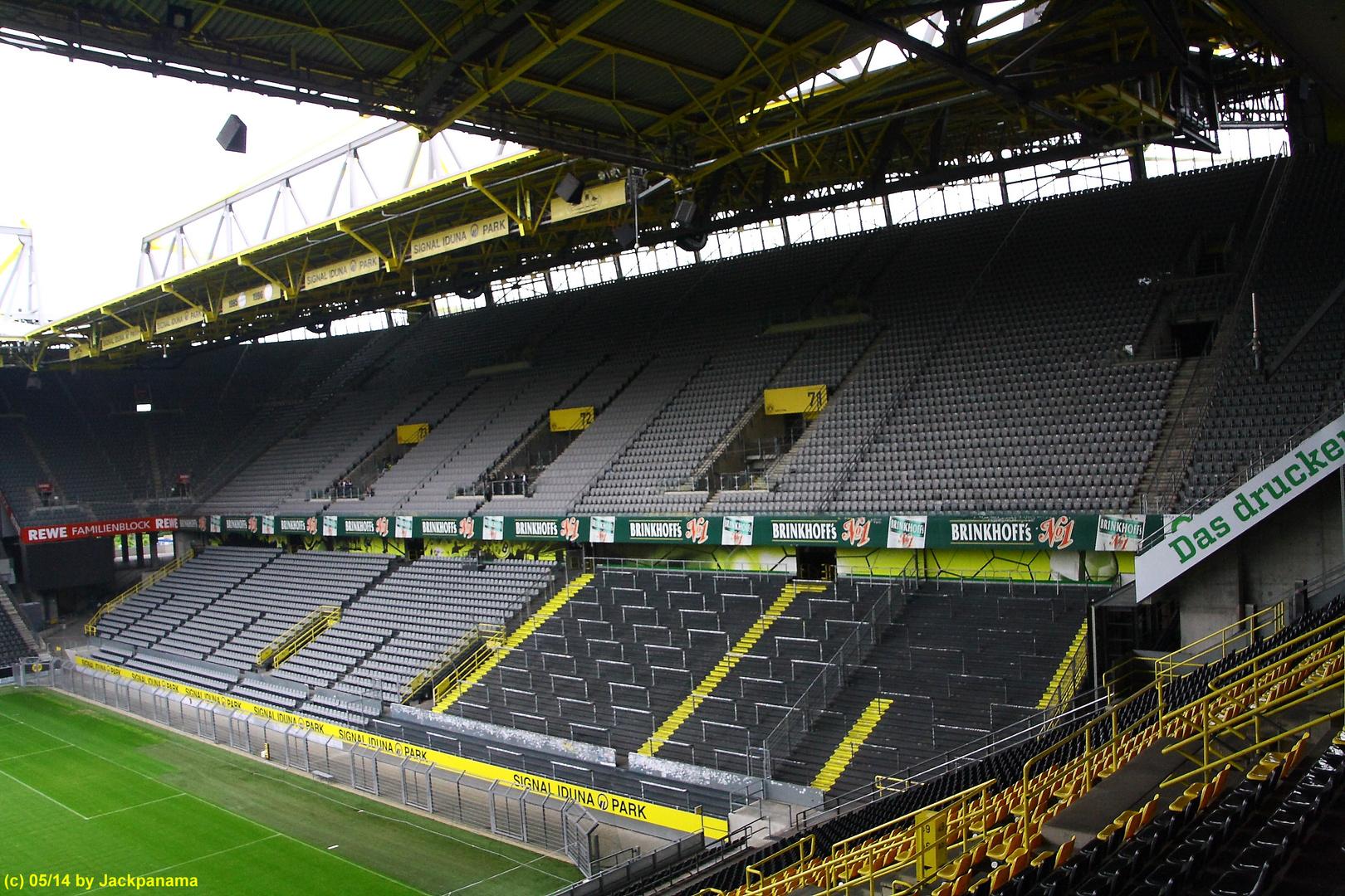 Besichtigung des Signal-Iduna-Parks des BV Borussia Dortmund 1909 mit der VHS (3)