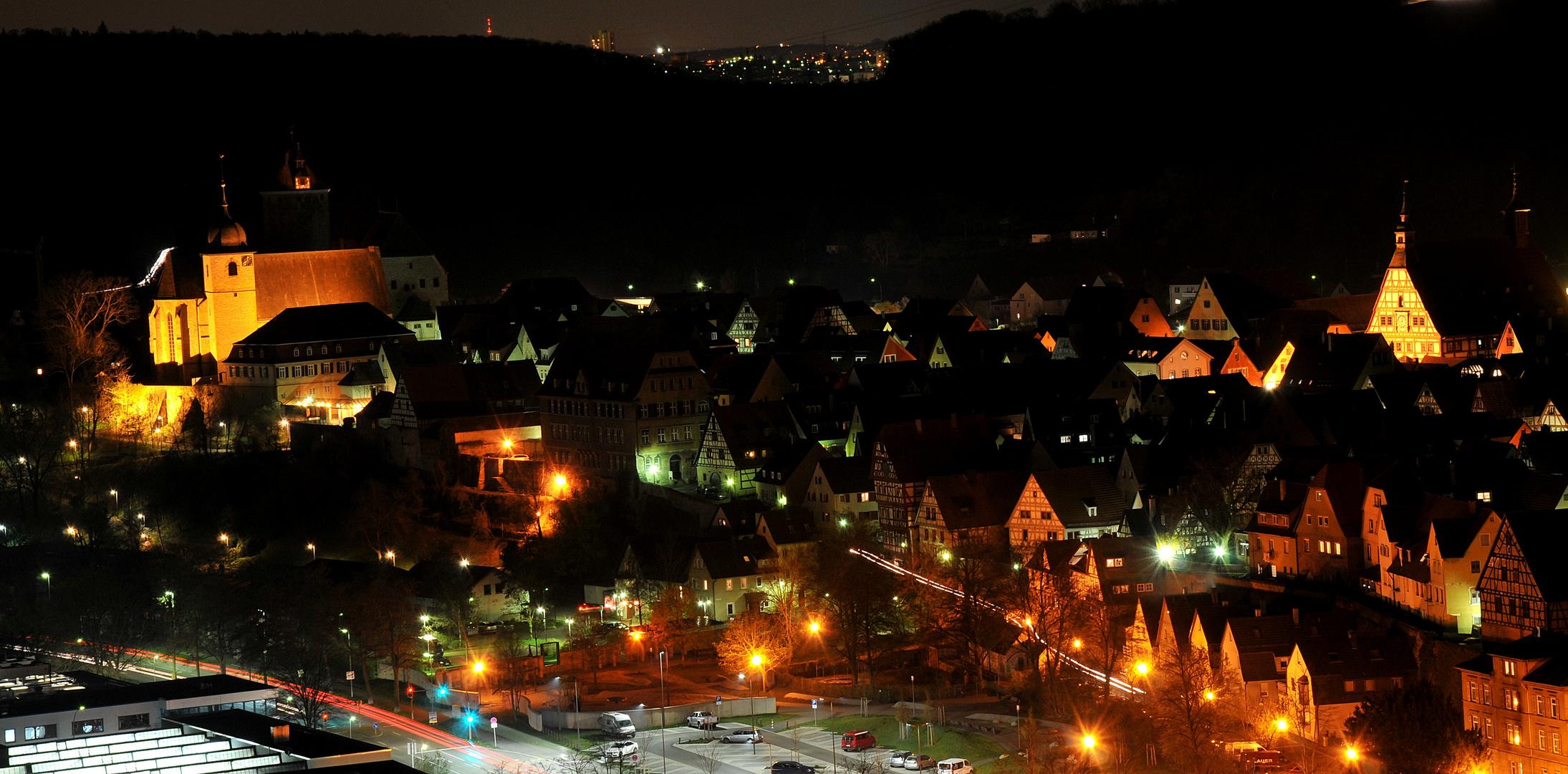 Besigheim Blick über die Altstadt