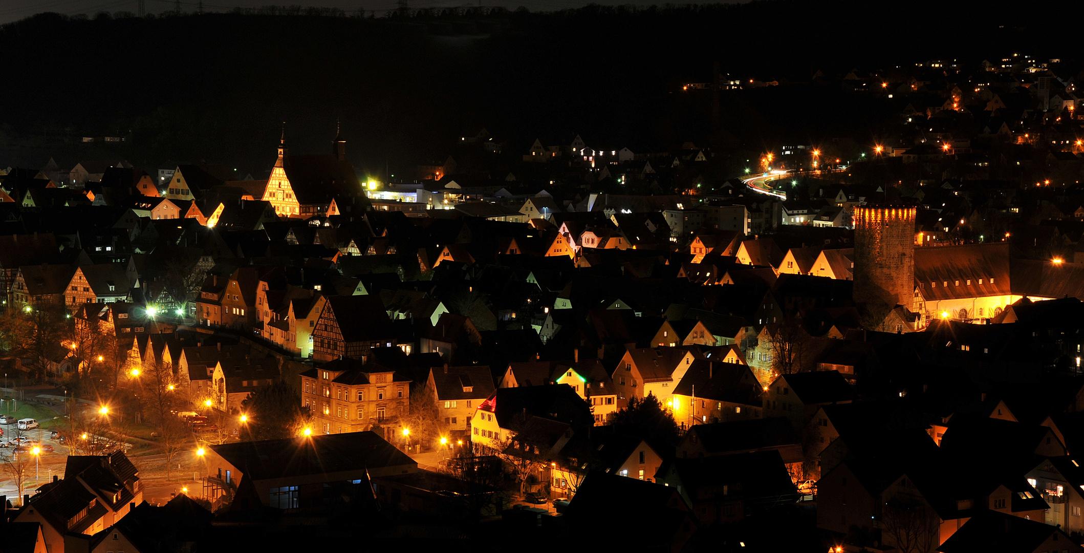 Besigheim Blick über die Altstadt_2