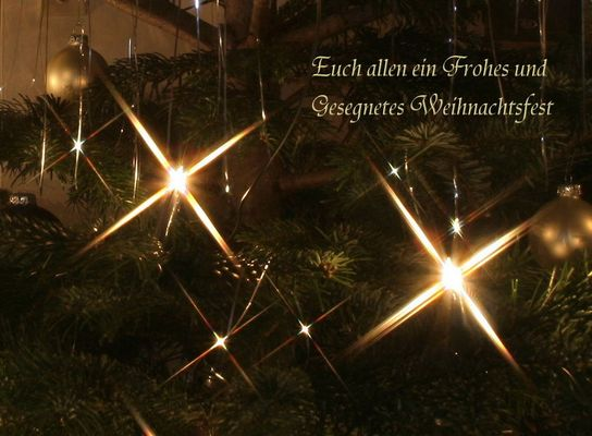 besinnliche Weihnachtszeit