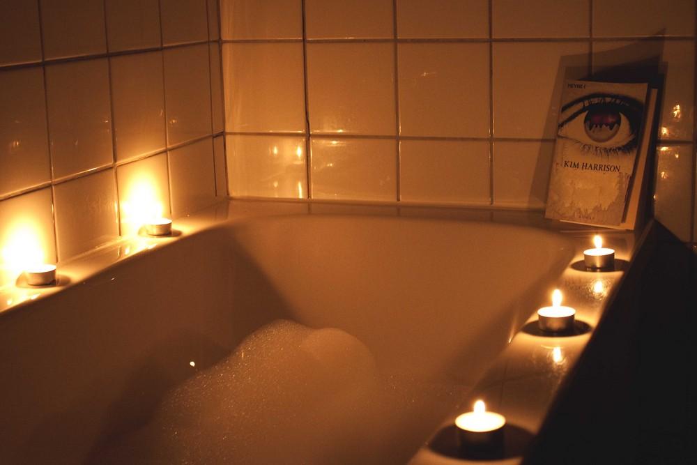 Besinnliche Zeit im Bad