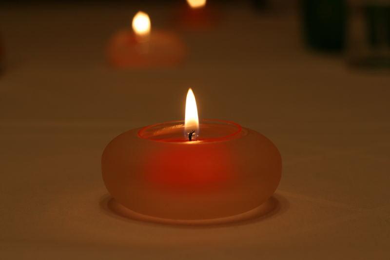 Besinnliche Zeit im Kerzenlicht